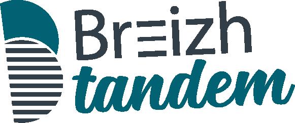 Logo Breizh tandem - agence de communication