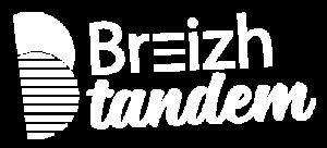 Logo Breizh tandem blanc